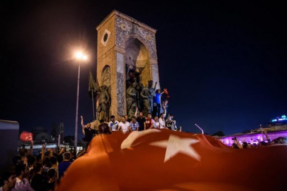 El intento de Golpe de Estado en Turquía falló. (Foto: AFP)