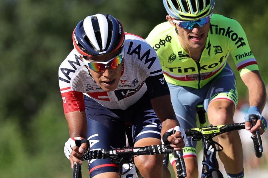 El colombiano ganó la primera etapa para su país en esta edición (Foto: AFP)