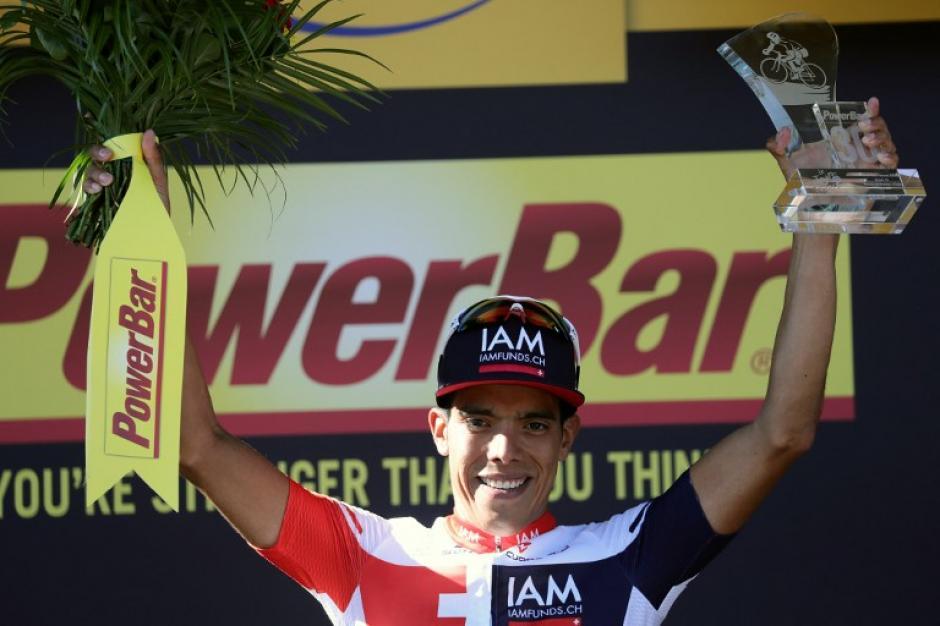 Pantano en el podio (Foto: AFP)