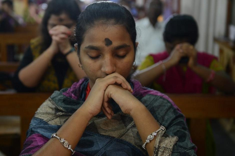 En la India también hay devotos católicos que también siguen la tradición. (Foto: AFP)