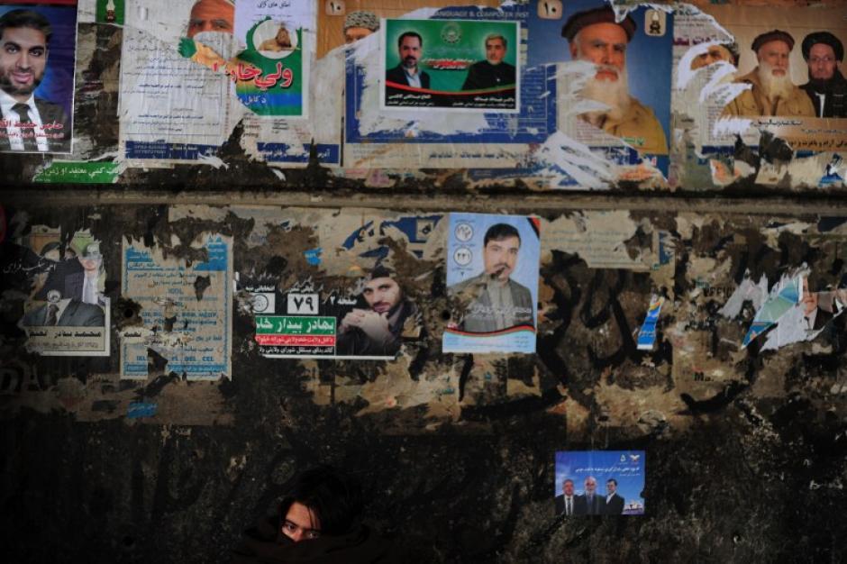 Este sábado será la primera vuelta de la elección presidencial que debe elegir al sucesor de Hamid Karzai, que dirige el país desde la caída de los talibanes en 2001. (Foto: AFP)