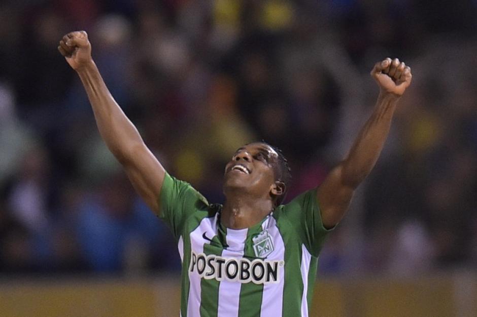Atlético Nacional se adelantó en el marcador en el primer tiempo. (Foto: AFP)