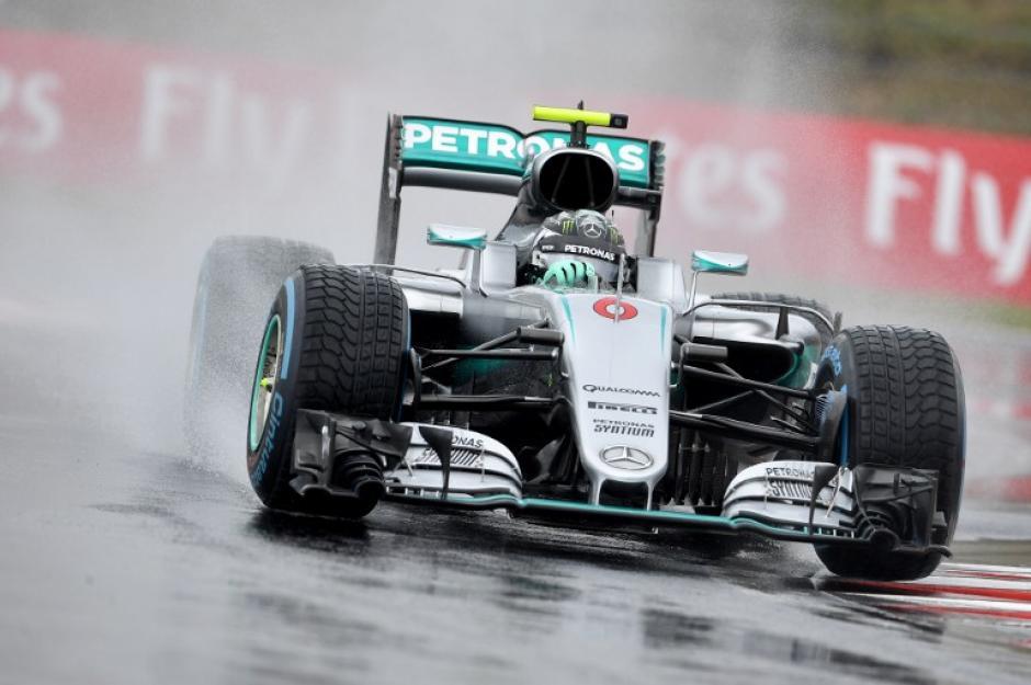 La lluvia marcó la jornada en Hungría (AFP)