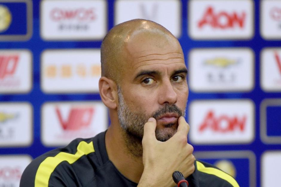 Pep Guardiola no deja indiferente a nadie. (AFP)