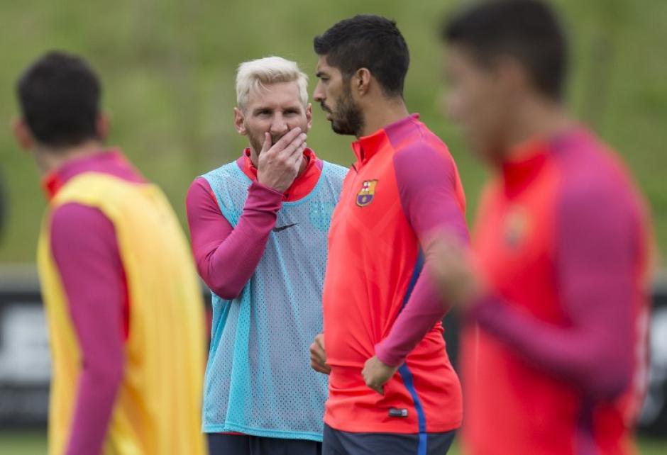 El punto es que alguien pueda darles descanso a Messi, Neymar y Suárez. (AFP)