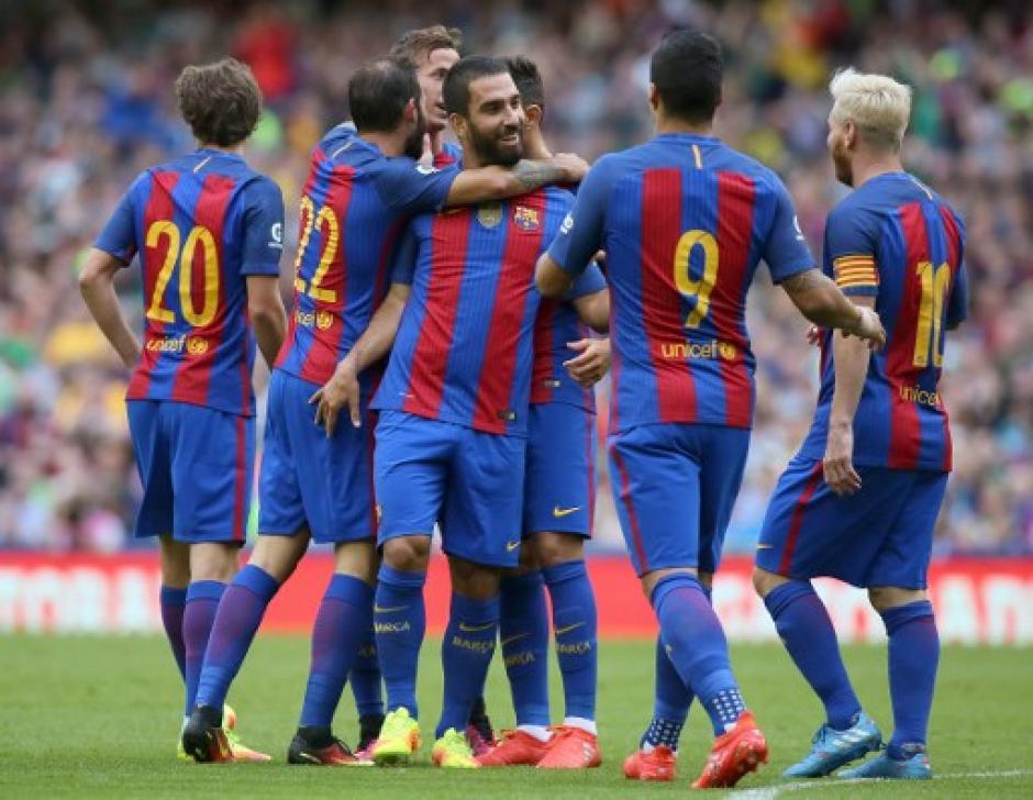El Barça ganó su primer partido de la temporada (AFP)