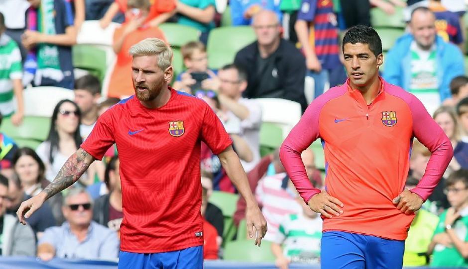 Leo se entrena actualmente en Inglaterra con el Barça. (EFE)