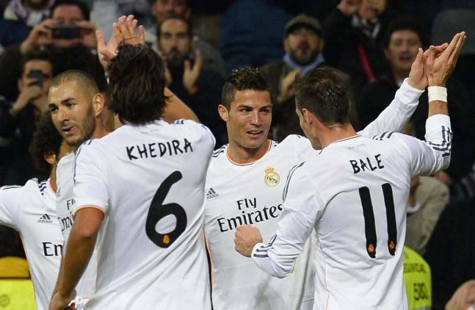 """La combinación de la """"BBC"""" (Bale, Benzema y Ronaldo), apareció por primera vez en el juego de la primera vuelta ante el Sevilla"""