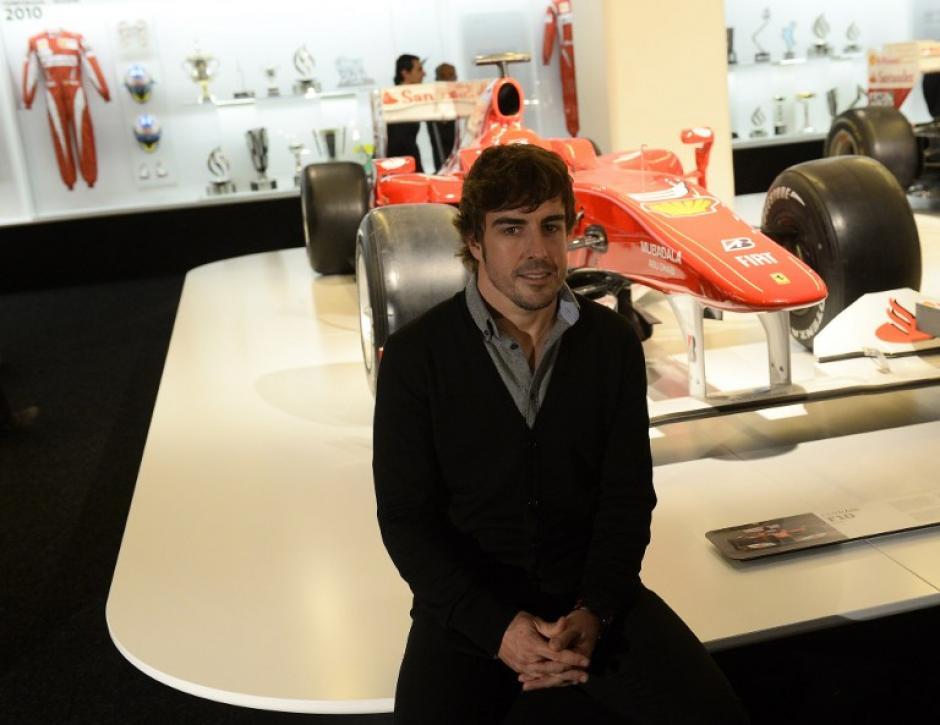 Fernando Alonso, actual subcampeón mundial de Fórmula Uno, tendrá un nuevo compañero en la escudería Ferrari