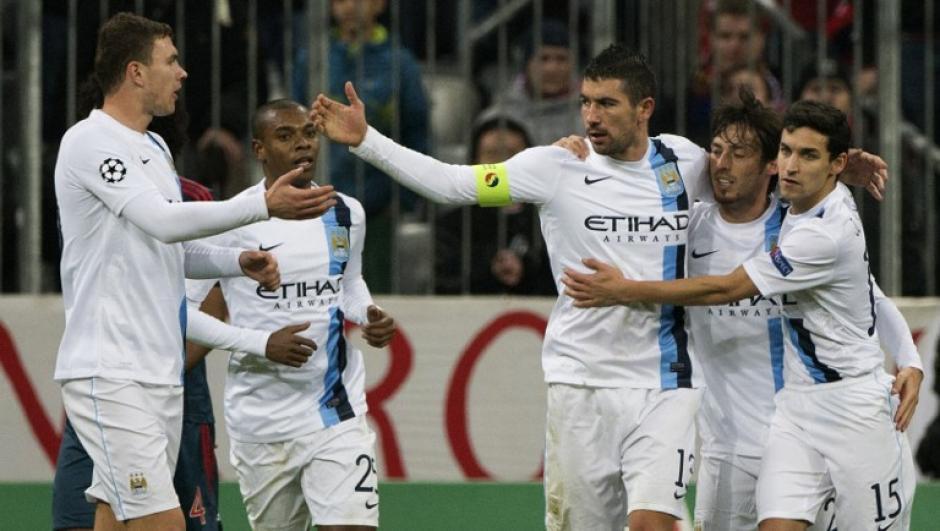 El Manchester City dio la sorpresa de la jornada al derrotar al Bayern Munich a domicilio.