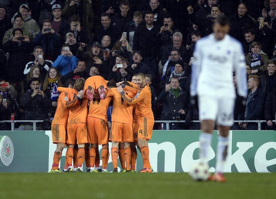 Luka Modric y Cristiano Ronaldo fueron los anotadores que le dieron el triunfo al Real Madrid. (Foto: Scanpix Denmark/AFP)