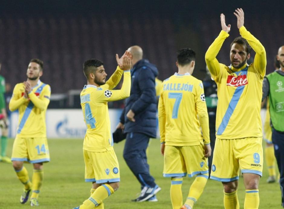 El Nápoles llega a la Europa League proveniente del Grupo F de la Champions
