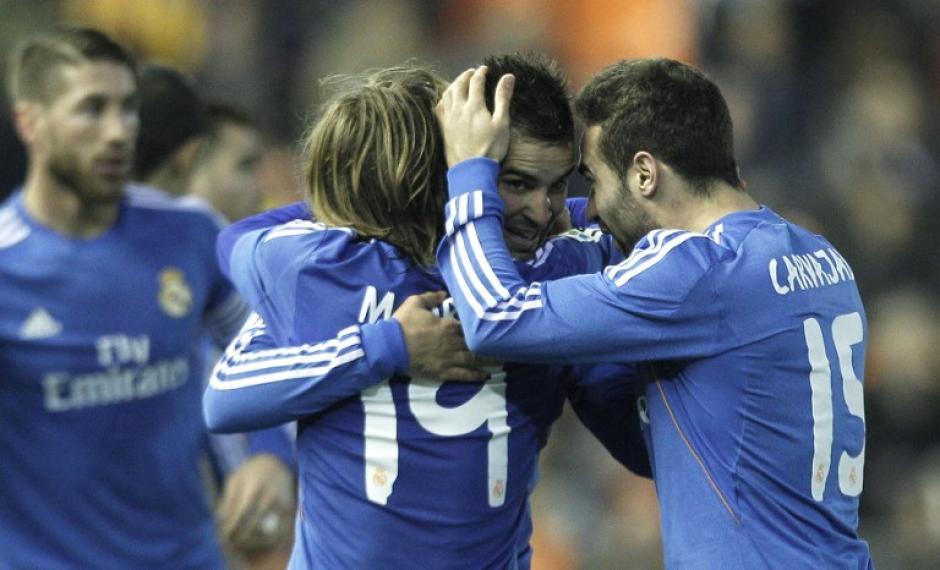 Real Madrid, Liga, España, Valencia, 2013