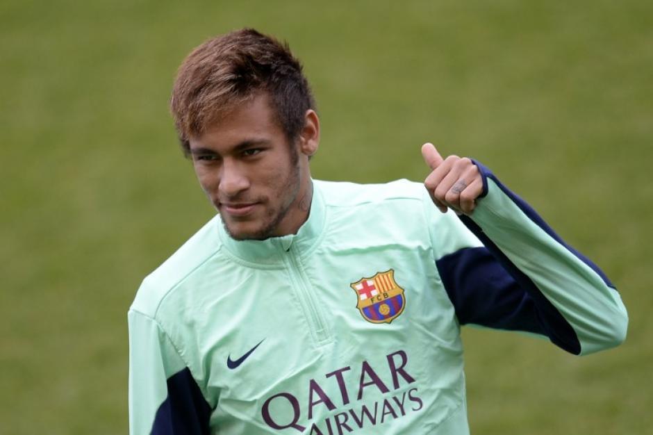 Neymar está de vuelta y es opción para el juego del sábado ante el Atlético de Madrid