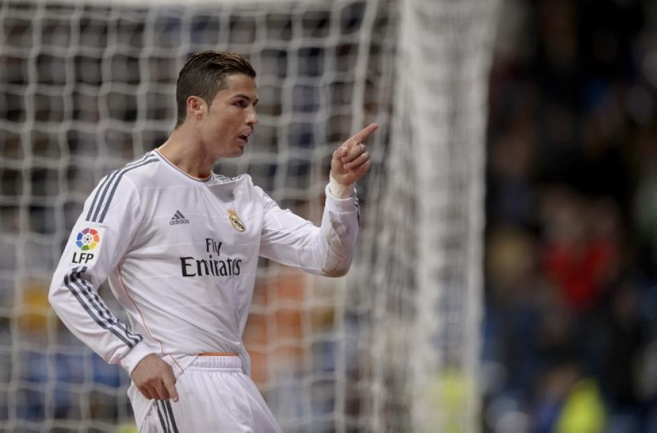 El delantero luso sumó 400 goles en su carrera como profesional hoy tras marcar un doblete al Getafe con el Real Madrid