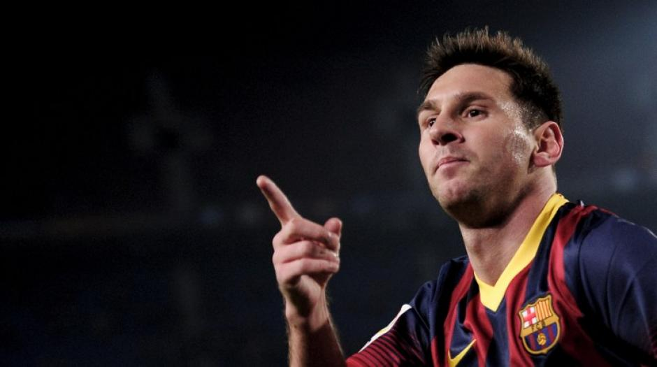 Lionel Messi regresó tras casi dos meses de ausencia y le anotó un doblete al Getafe por la Copa del Rey. (Foto: Josep Lago/AFP)