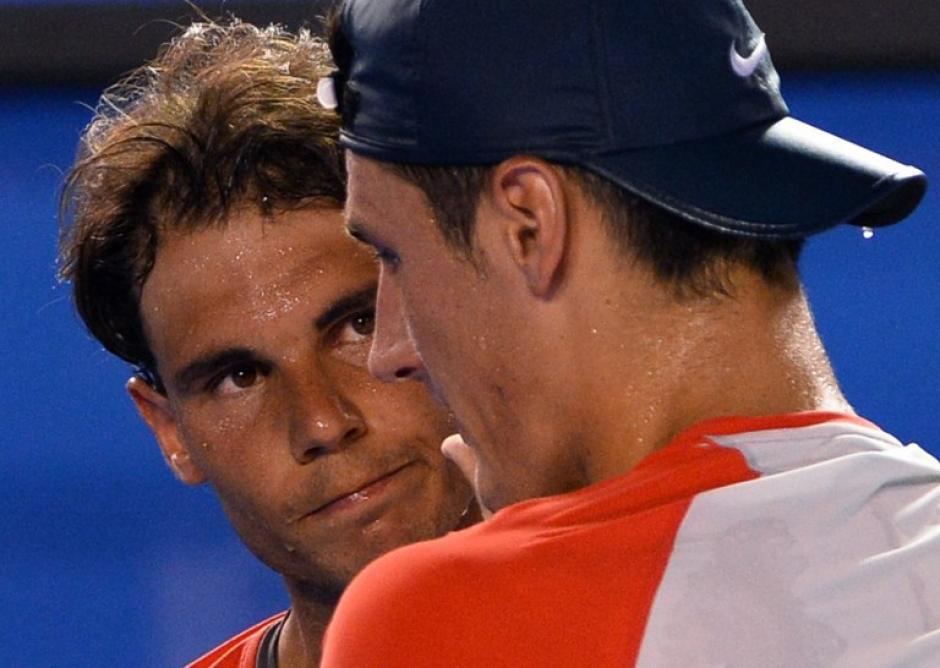 Rafael Nadal, Tomic, Melburne, Tenis
