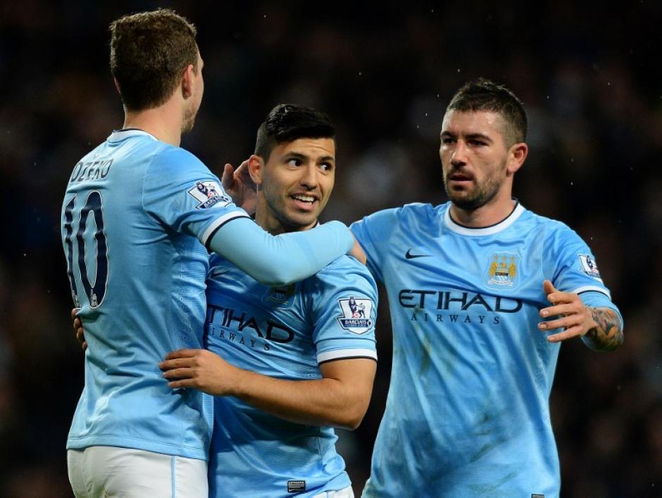"""El argentino Sergio el """"Kun"""" Agüero regresó de lleno con el Manchester City tras recuperarse de una lesión"""