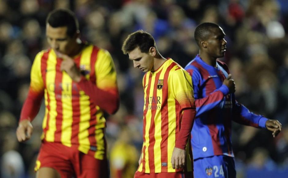 El Barcelona está urgido de un triunfo tras dos empates consecutivos en la Liga, el último ante el mismo Levante.