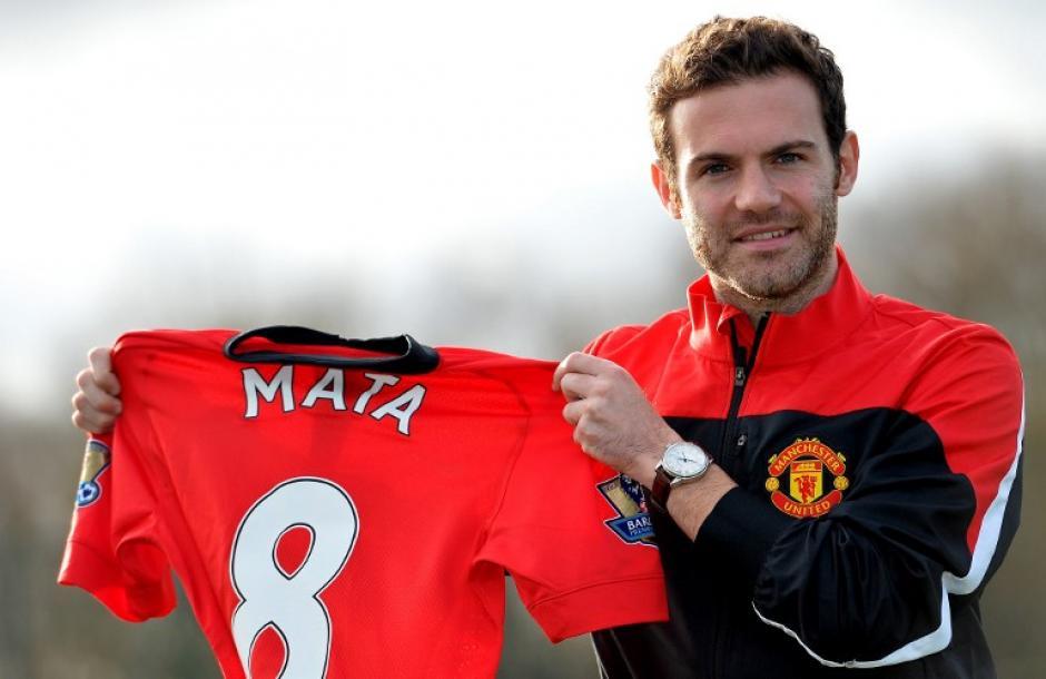 Mata se convirtió en el fichaje más caro de la historia del Manchester United