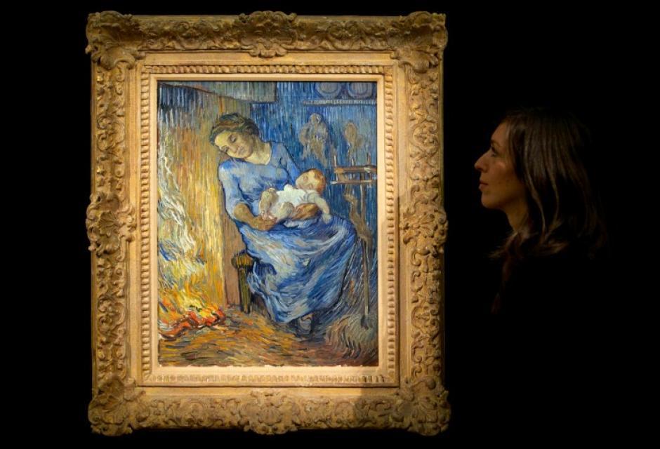 """L'Homme est en mer"" de Vincent Van Gogh. Foto AFP"