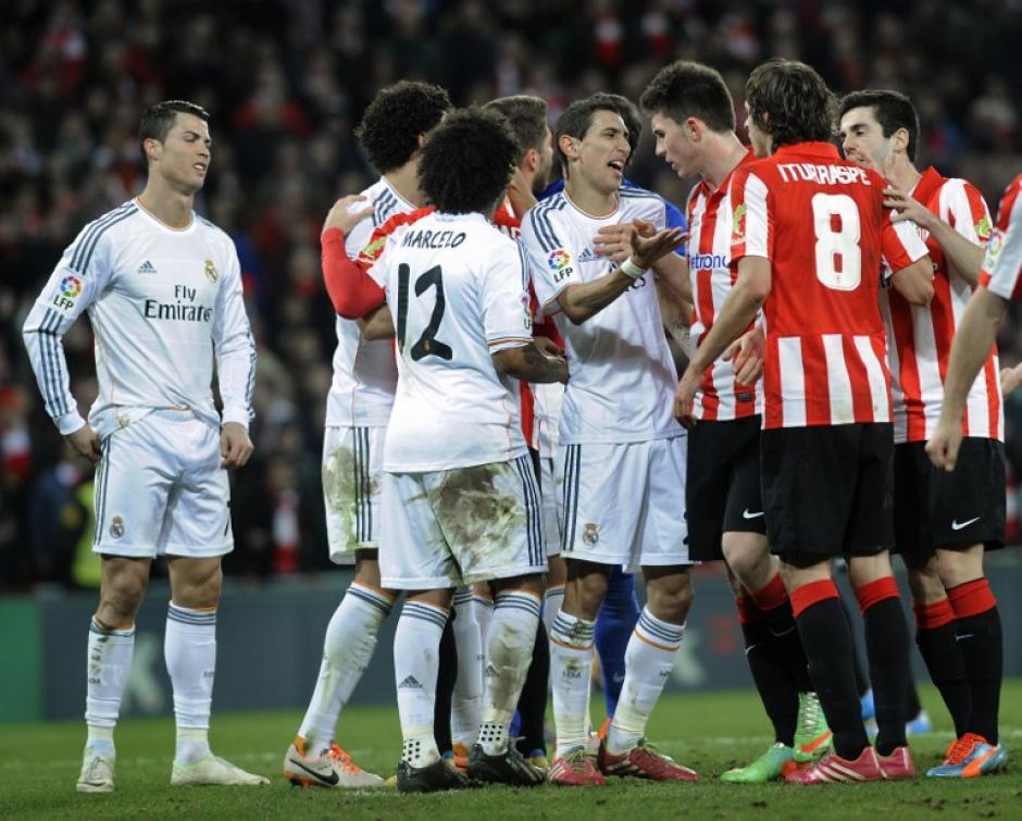 El gesto final de Cristiano Ronaldo tras ser expulsado, podría costarle dos juegos de suspensión