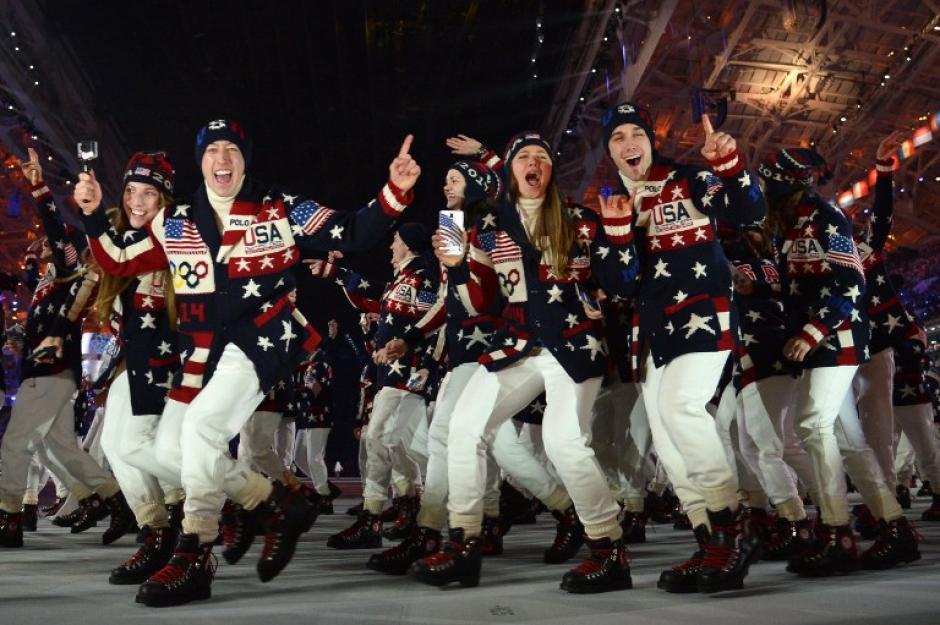 La delegación estadounidense es la más grande de las participantes en estas justas deportivas. (Foto: Alberto Pizzoli/AFP)