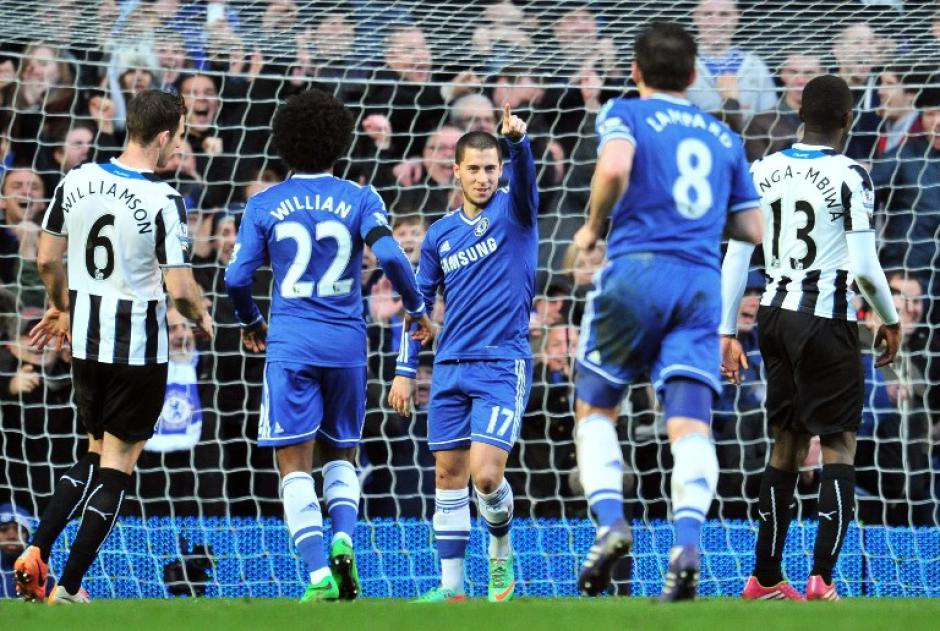 Eden Hazard ha sido una revelación y ha ayudado al Chelsea a llegar al liderato de la Premier League