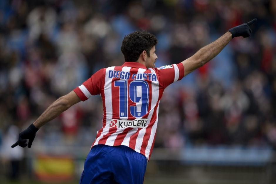 Diego Costa es la carta goleadora del Atlético de Madrid