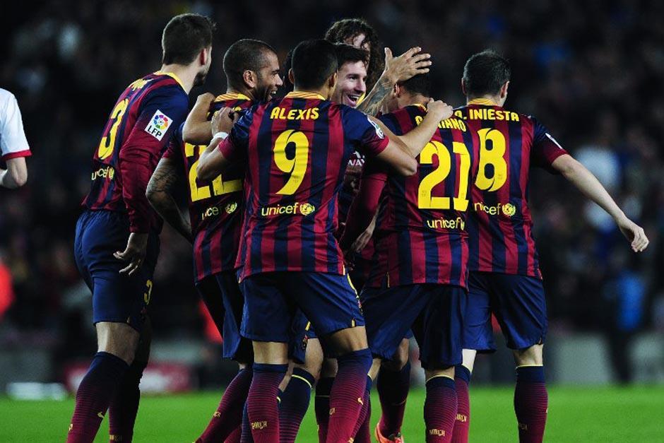 El Barcelona recuperó a su goleador Lionel Messi tras un bache y a Neymar tras una lesión, así también el liderato de la Liga hace dos jornadas
