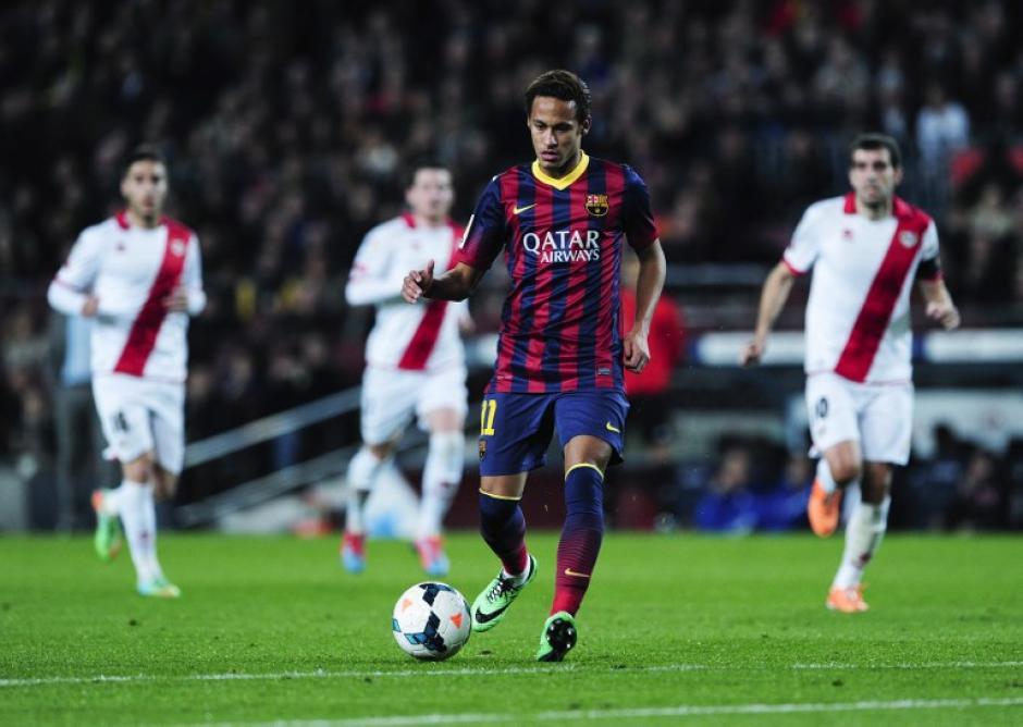 Neymar anotó un gol al minuto 88' del juego.