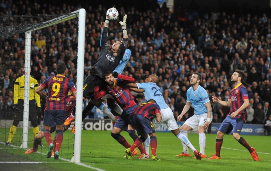 Manchester City y FC Barcelona