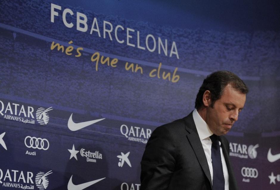 Sandro Rosell dimitió de su presidencia en el Barcelona debido a las polémicas del caso del fichaje de Neymar y ahora es investigado junto a la institución del Barcelona por la Hacienda Pública