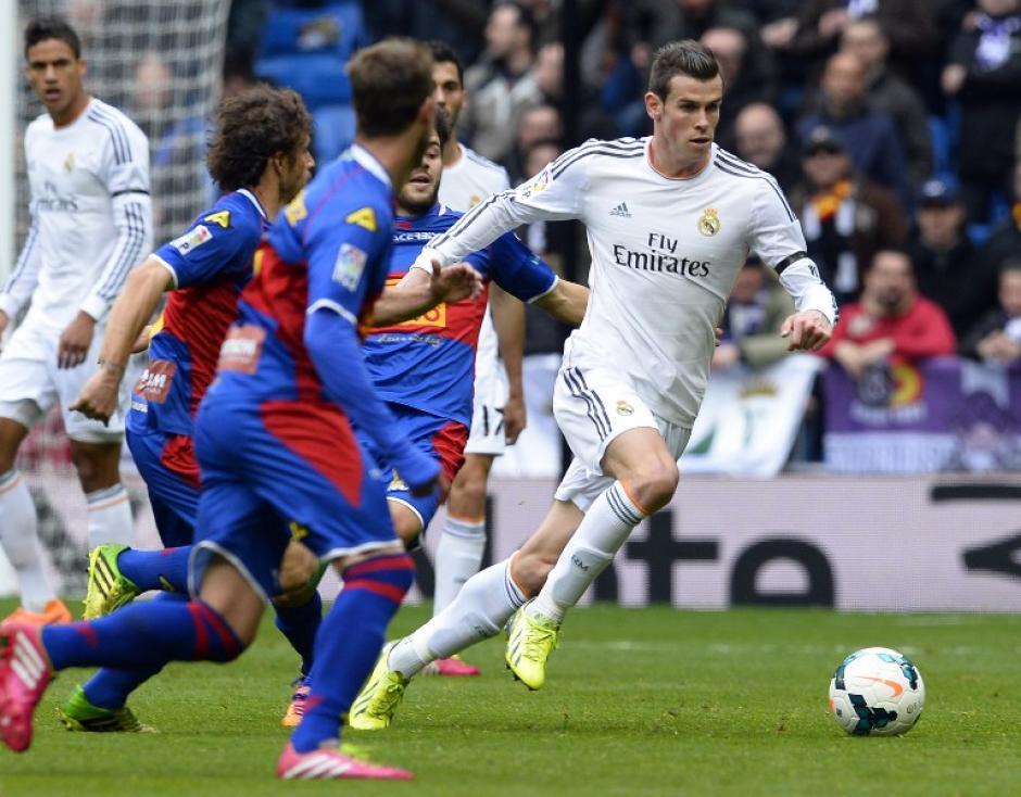 Bale apostó a las individualidades y tuvo su premio con un gol desde fuera del área. (Foto: AFP)