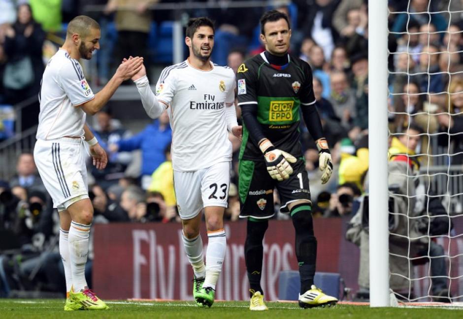 Illarramendi abrió el marcador tras una buena acción de Di María. (Foto: AFP)