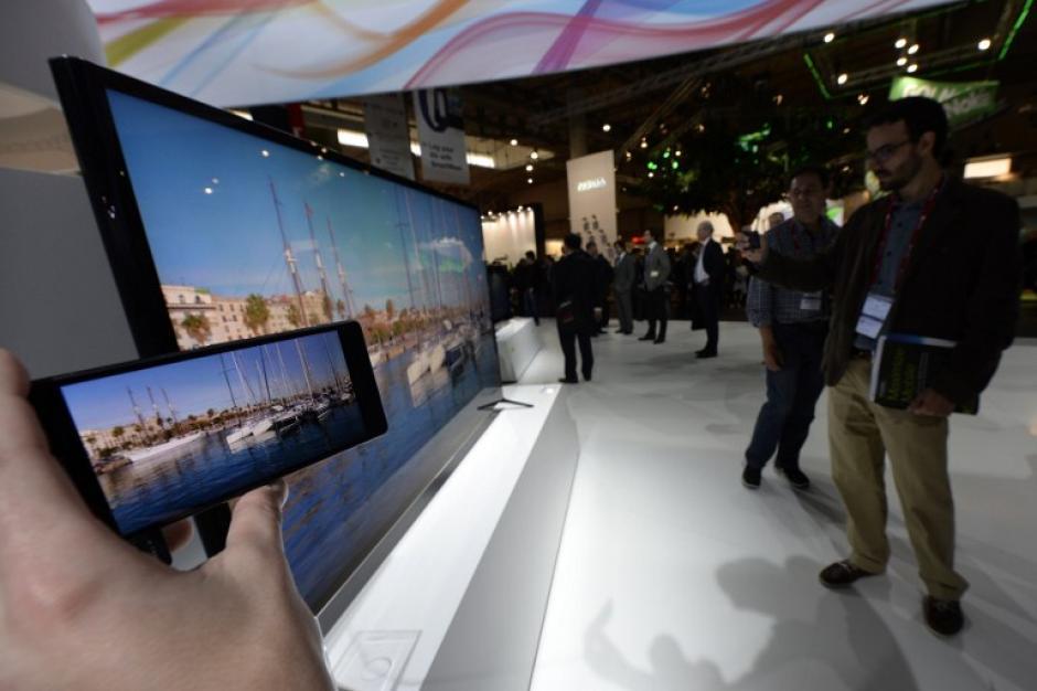 El Sony Z2 es calificado como el mejor Android lanzado este año porque presenta un procesador mucho más veloz. (Foto: AFP)