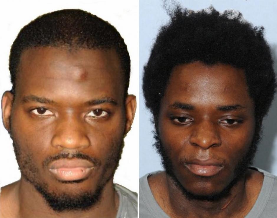 Los dos islamistas sentenciados Michael Adebolajo y Michael Adebowale. (Foto: AFP)