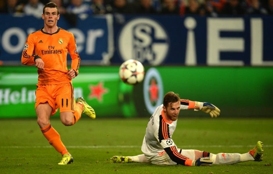El guardameta de los alemanes fue superado por el galés Gareth Bale durante el 5-0 de los merengues. (Foto: AFP)