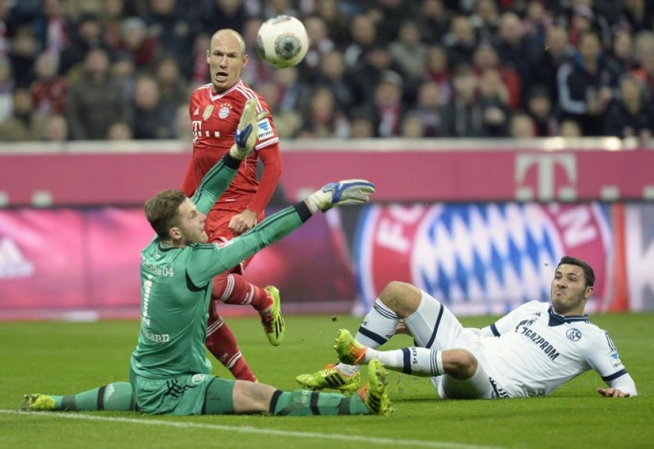 Bayern Munich, Bundesliga, Schalke 04