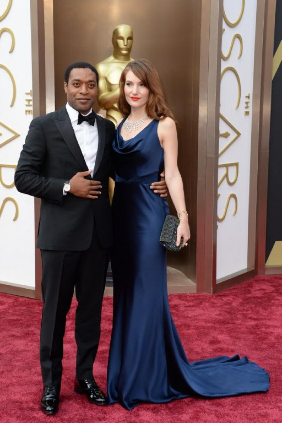 """El nominado a mejor actor, Chiwetel Ejiofor, por la película """"12 años de esclavitud"""". (Foto: AFP)"""
