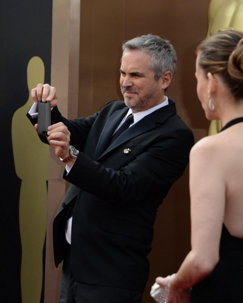 """El mexicano Alfonso Cuarón, nominado a mejor director por su película """"Gravity"""". (Foto: AFP)"""