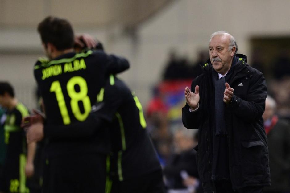 Vicente del Bosque sabe que España tiene una gran presión para la Copa del Mundo de Brasil 2014. (Foto: AFP)
