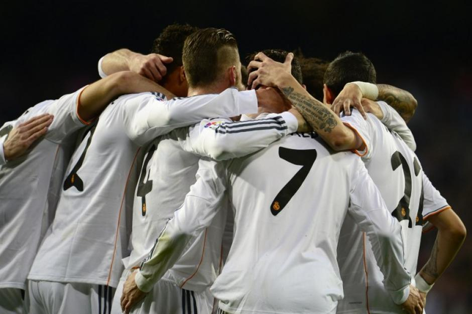 El 2-0 lo puso Marcelo al minuto 49, asegurando de esta manera la victoria del Real Madrid. (Foto: AFP)