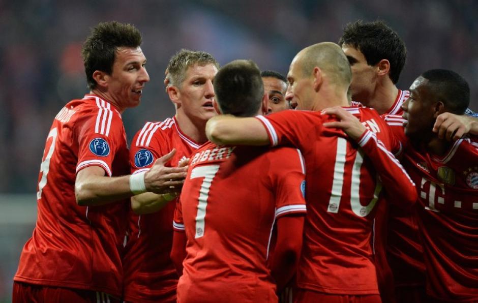 El Bayern Munich consiguió la clasificación a cuartos de la Champions tras empatar en el juego de vuelta ante el Arsenal. (Foto: AFP)