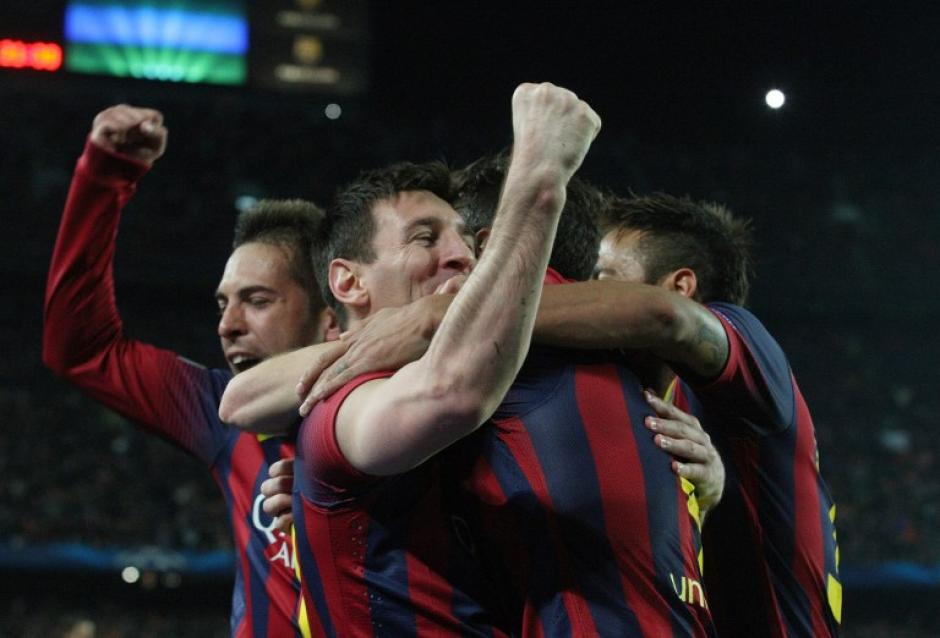 Leo Messi consigue 371 goles