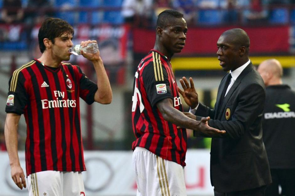 Milan cae en casa