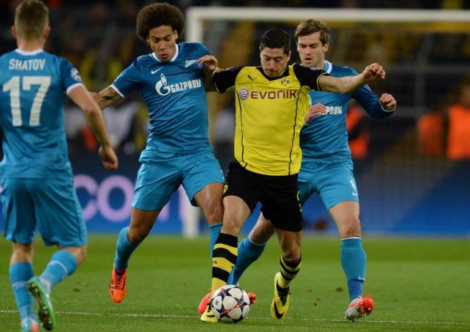 Lewandowski se perderá el juego de ida de cuartos por acumulación de tarjetas amarillas. (Foto: AFP)
