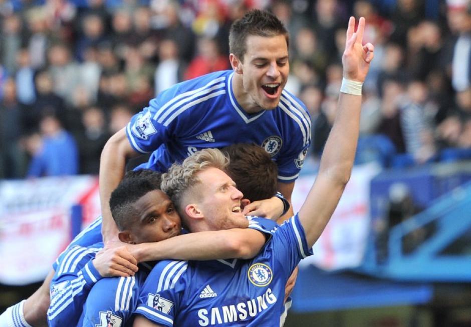 El Chelsea dió una lección táctica al Arsenal. (Foto: AFP)