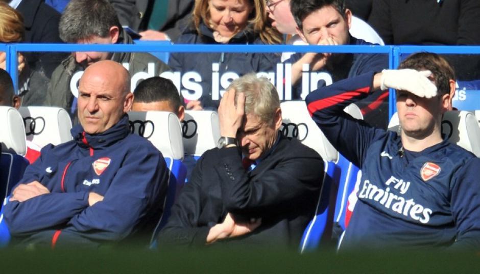 Arsene Wenger cumplió su partido 1000 con el Arsenal con una derrota aplastante. (Foto: AFP)