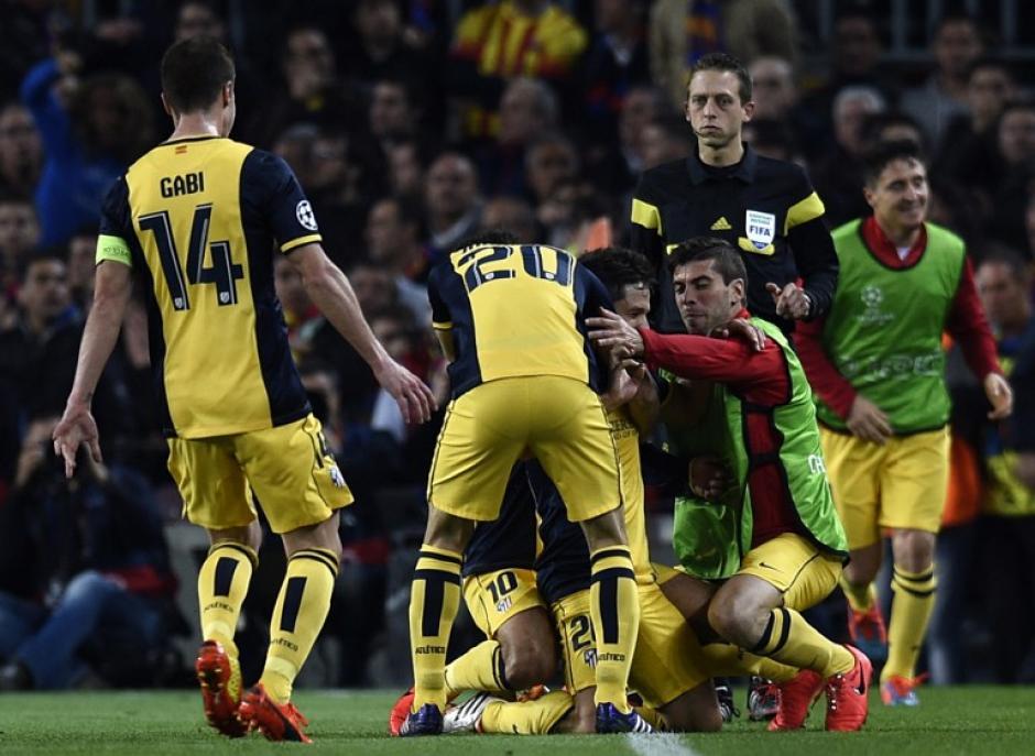 El gol fue un derechazo desde fuera del área que dejó a Pinto sin nada que hacer. (Foto: AFP)